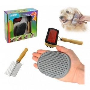 82009 PET Kit 3 pièces pour le nettoyage et l'entretien de notre chien