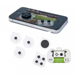 5 boutons contrôleurs de jeu analogique compatible iPhone mod. Vert