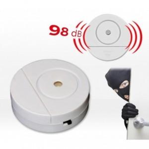 Alarme sans fil (98 dB) pour portes et fenêtres ou coffre fort