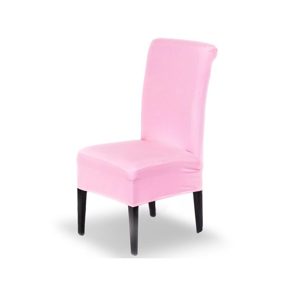 4350 4 Housses de chaise en tissu élastique idéal pour cuisine et salon