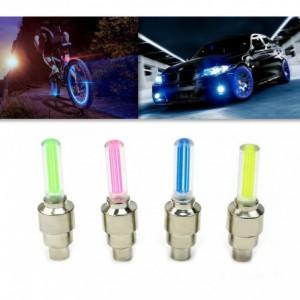 Conduit feux pour voitures - décoration vélos et motos roues visibilité dans la nuit