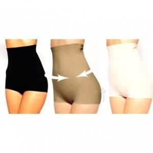 Short taille haute - Gaine amincissante - jusqu'à une taille en moins - effet push-up
