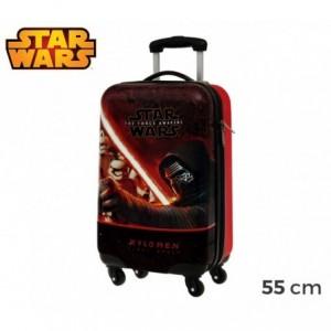 4641451 Valise - Bagage à main rigide avec ABS - STAR WARS 55X33X20 cm