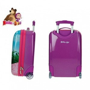 4731151 Valise chariot, bagage cabine ABS MASHA ET L'OURS 48X30X18 cm