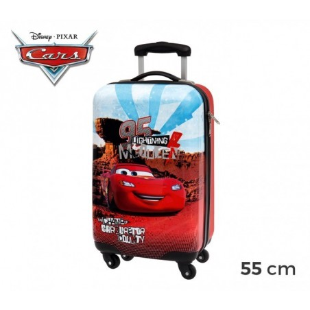 4441451 Chariot valise - Bagage à main en ABS CARS Flash McQueen