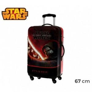 4641551 Chariot valise -Bagage à main en ABS rigide STAR WARS 67X42X24