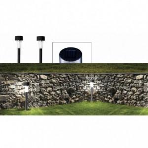 Lot  4 , 8 , 16 lampes jardin LED - énergie solaire