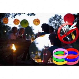 Bracelet anti-moustiques - silicone parfumé - deux mesures / adultes et enfants