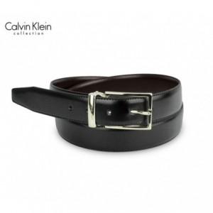 CK014 Ceinture pour homme en vrai cuir Calvin Klein taille 100/125