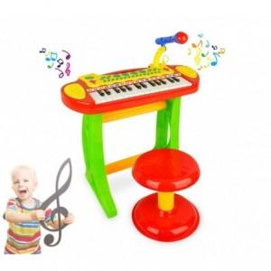 105914 Piano Rock clavier électonique jouet 31 touches hauteur 20 cm