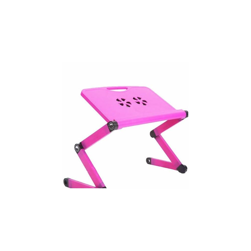 table pliante pour ordinateur portable ou pc avec ventilateur. Black Bedroom Furniture Sets. Home Design Ideas