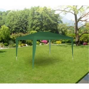 GR-DL-G7006 - Tonnelle de jardin avec cadre acier - 3x3m - Blanc
