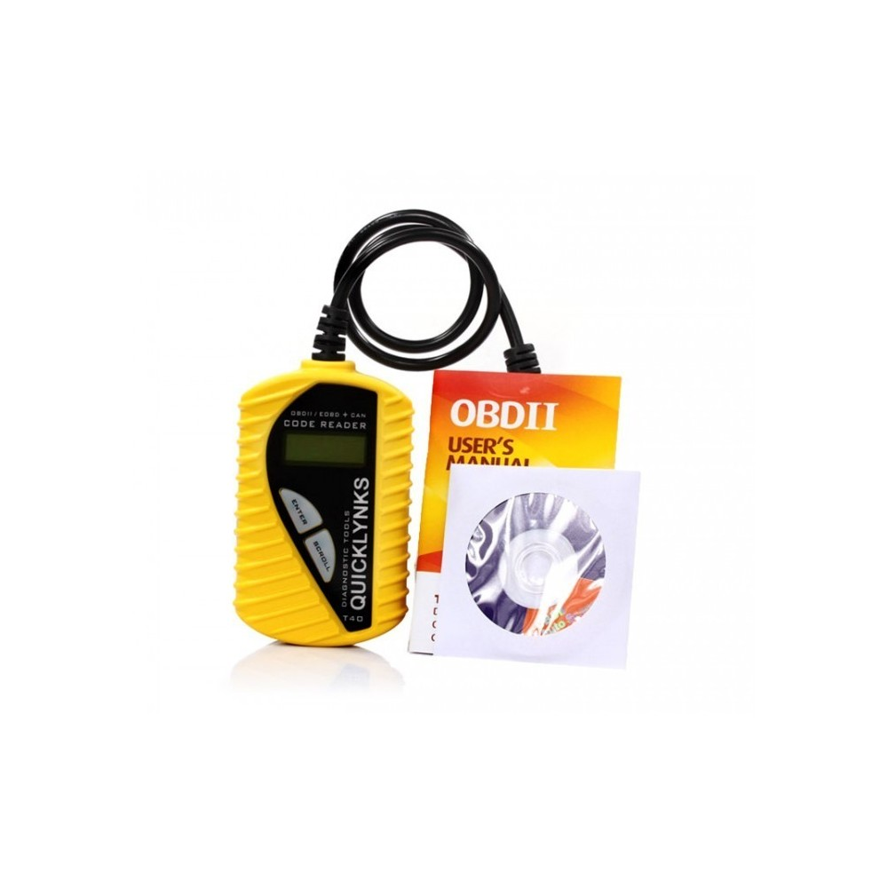 kit de diagnostic de voiture universel obdii obd2 dispositif code40. Black Bedroom Furniture Sets. Home Design Ideas