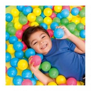 52027 Kit de 100 boules colorées en plastique pour gonflable Bestway