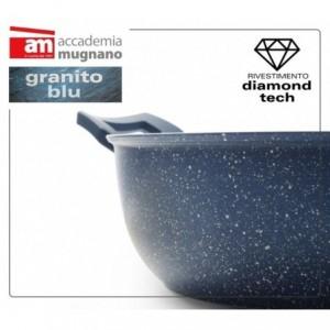 Casserole antiadhésive à deux poignées 20 cm Diamond Tech Accademia