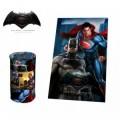 WA16030 Couverture polaire douce et chaude BATMAN VS SUPERMAN 100 x 150 cm plaid