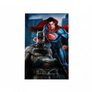 MW160301 Couverture polaire douce et chaude BATMAN VS SUPERMAN 100x150cm