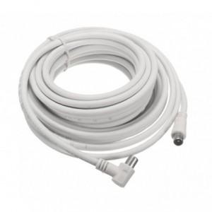 029480 câble de 5m pour une connexion coaxiale d'antenne TV mâle-femelle