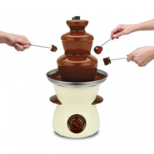 516885 Fontaine de chocolat DICTROLUX 80 Watt 3 plans de Cascade 500 ml.