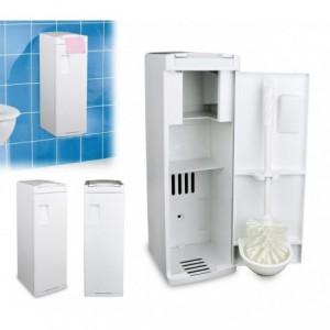 339053 Petite armoire porte-papier et porte-brosse brosse de toilette WC