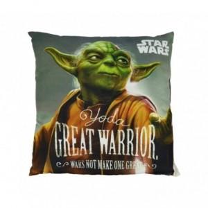 SW92244 Oreiller doux Star Wars 40x40 cm Double image Dark Vador - Yoda