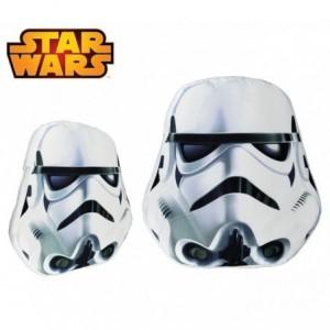 SW16529 Oreiller doux 3D STAR WARS collection Storm Trooper 38x45x5 cm