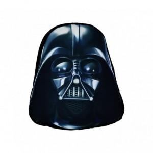 SW16528 Oreiller doux 3D de collection STAR WARS Dark Vador noir 44x34 cm