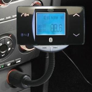 Transmetteur FM kit voiture Bluetooth MP3 WMA SD USB