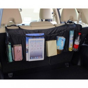 899997 Organiseur d'objets à 6 rangements à fixer sur les sièges de voiture