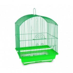 189115 Cage pour oiseaux de petite taille KITTY 49,5x34x27,5 cm  2 mangeoires