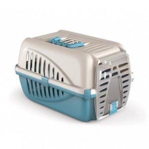 10567 Caisse de transport en plastique pour animaux PANZER Italy 50x33x21 cm
