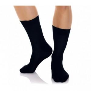 N825 Pack de 12 paires de chaussettes courtes hommes coton mulicolores