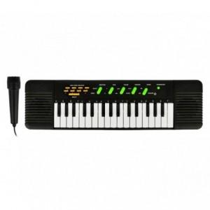 100378 Clavier électronique avec 32 touches avec 8 mélodies et microphone