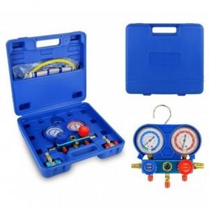 G02670 Set manomètres à 2 voies pour diagnostiquer climatiseurs et voitures
