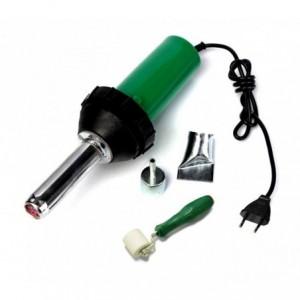 2993 Pistolet à air chaud pour pièces plastique et résine 1500W avec accessoires