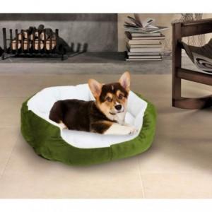 Panier/ Coussin en polaire pour les chiens et les chats - 50 x 40 x 15 cm