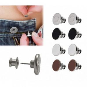 012969 Set de 8 boutons à clip kit d'urgence pour réparer les pantalons