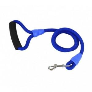 Laisse en corde ART 0084 114 cm pour petits et moyens chiens avec mousqueton