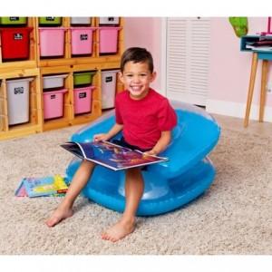 75006 Fauteuil gonflable pour les enfants Bestway en trois couleurs 76 x 76 cm