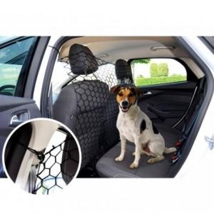 990013 Filet pare-chien en maille élastique pour transport auto des chiens