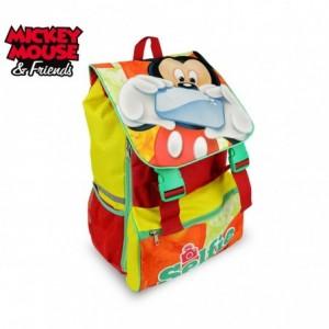 MK16101 Sac à dos pour l'école Mickey Mouse   41x28,5x20cm