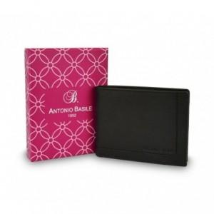 Portefeuille pour hommes 8806-PSB25 en cuir ANTONIO BASILE avec portemonnaie