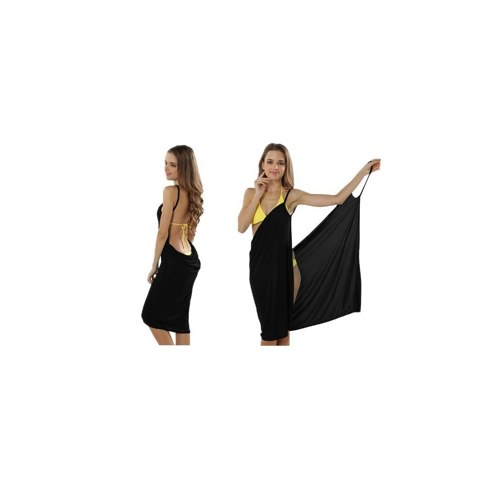 sarong par o cover up bikini wrap robe de maillot de bain convertible. Black Bedroom Furniture Sets. Home Design Ideas