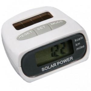 Podomètre numérique - énergie solaire sans fil - information de calories
