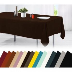 Nappe pour table en coton 150x200 en différentes couleurs