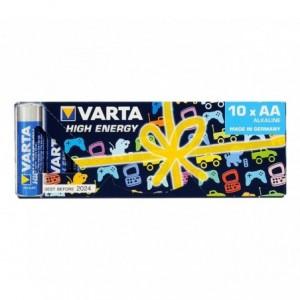 Pack économique de 10 piles AA Varta 774098 alcalines LR6 1.5V