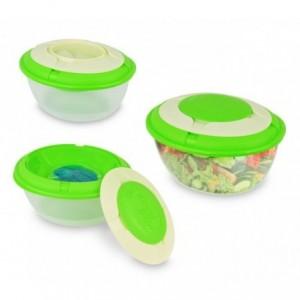 Boîte repas / déjeuner 355305 avec du gel réfrégirant chaud-froid