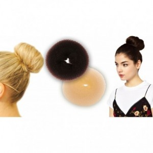 Élastiques d'arrêt de coiffure en nylon - chignon - donut - accesoire cheveux