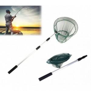 Euisette de pêche télescopique 8094476 manche réglable en aluminium 235 cm