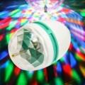 Ampoule RGB Lampe LED 3W e27 jeu tournant de lumière multicolore disco party